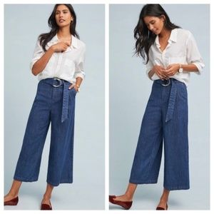 Anthro Pilcro Ultra High-Rise Wide-Leg Jeans NWOT